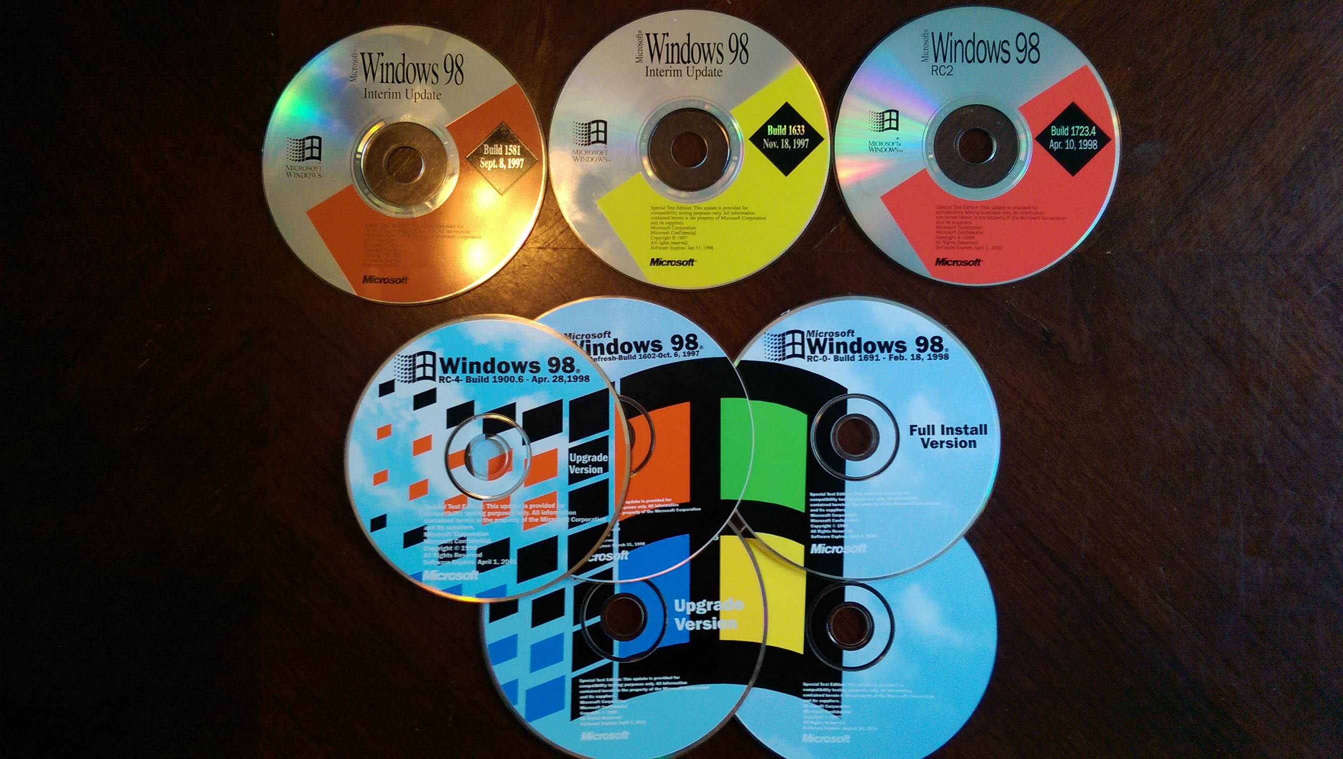 View topic - (Coming Soon) Windows 95 Build 420, 98 build 1633, and