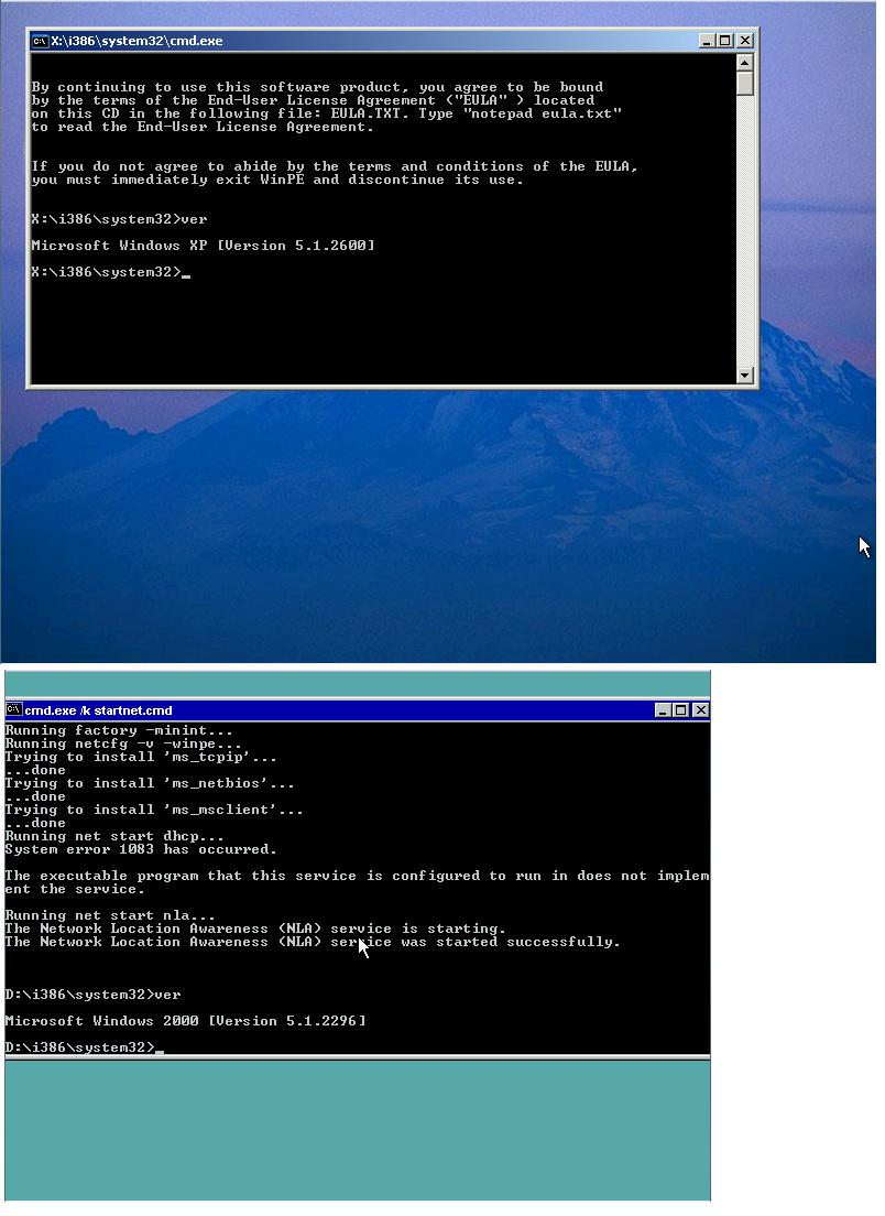 View topic - [Request] Windows PE 1 0 (Windows PE based on