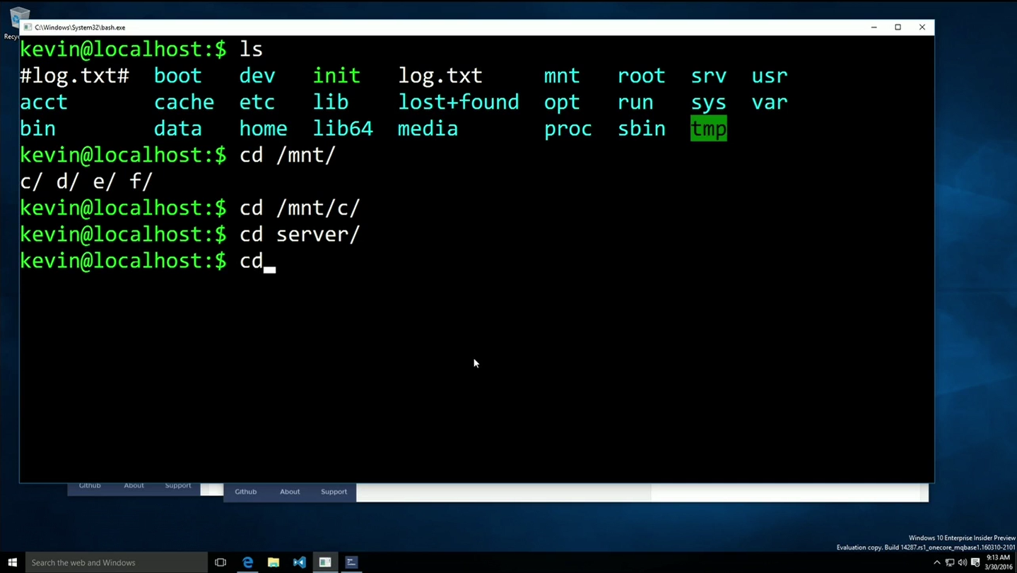 View topic - Windows 10 bash - BetaArchive