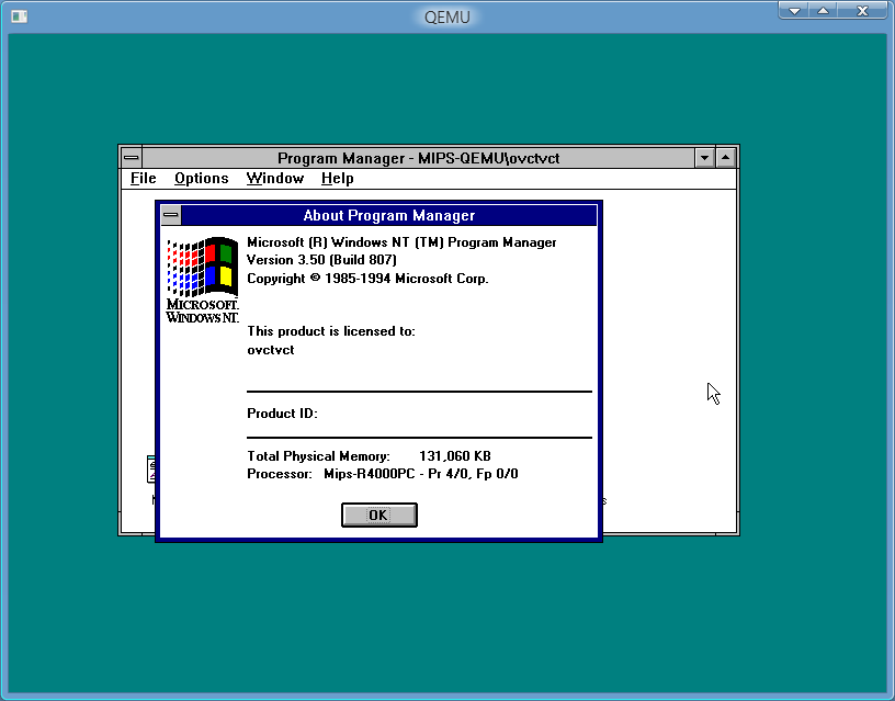 View topic - Installed NT 3 50&3 51 MIPS in Qemu succesfully