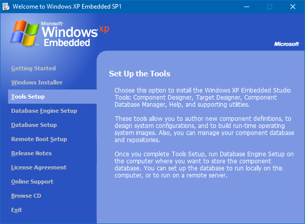 View topic - Windows XP Embedded Install - BetaArchive