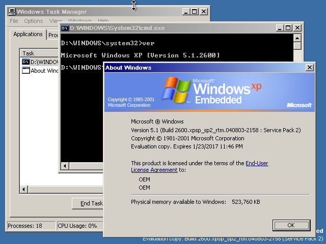 View topic - [TUTORIAL] Windows XP Embedded SP2 Evaluation