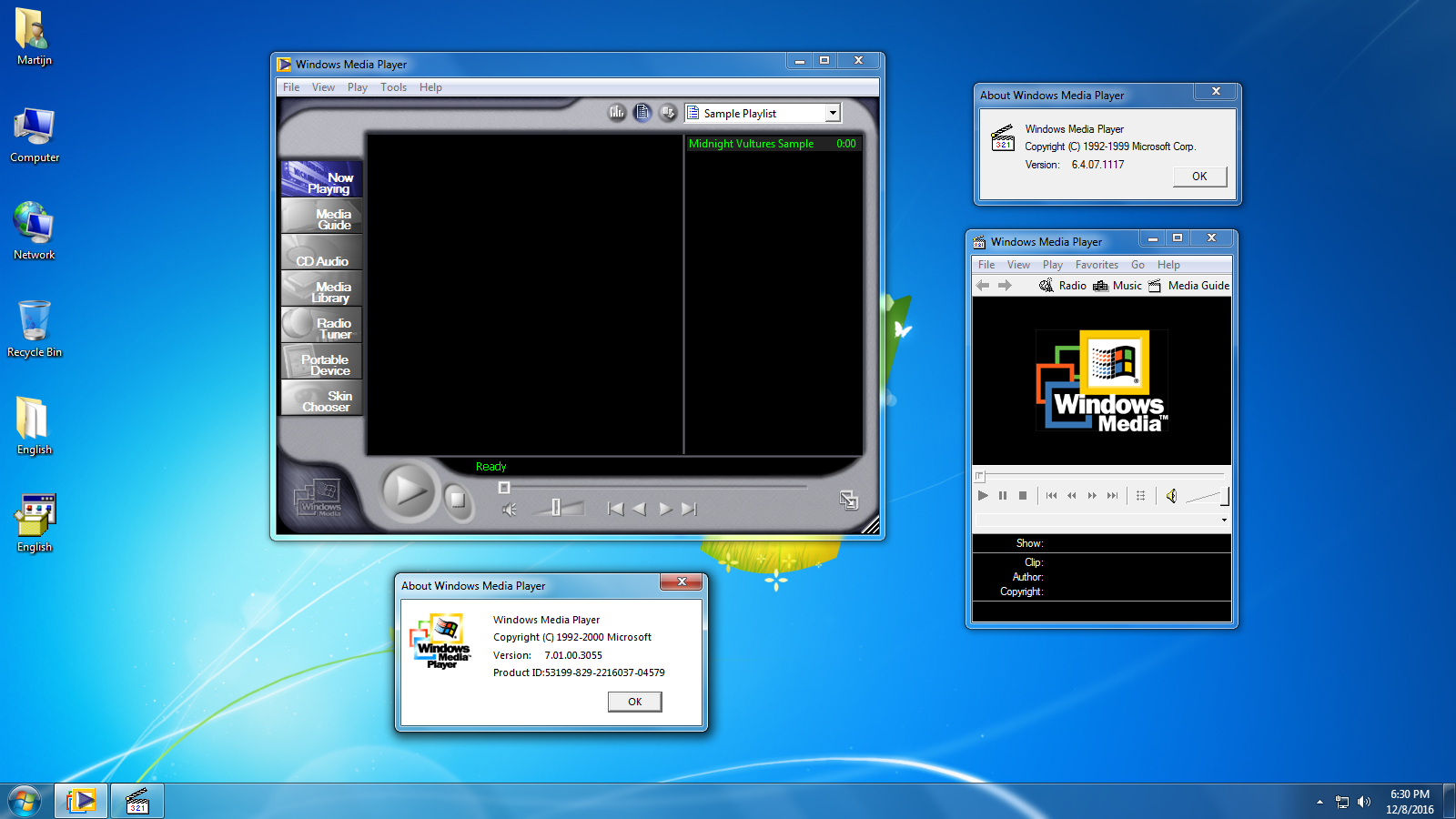 Installing WMP 7.1 (And 6.4) Under Windows XP and higher ...