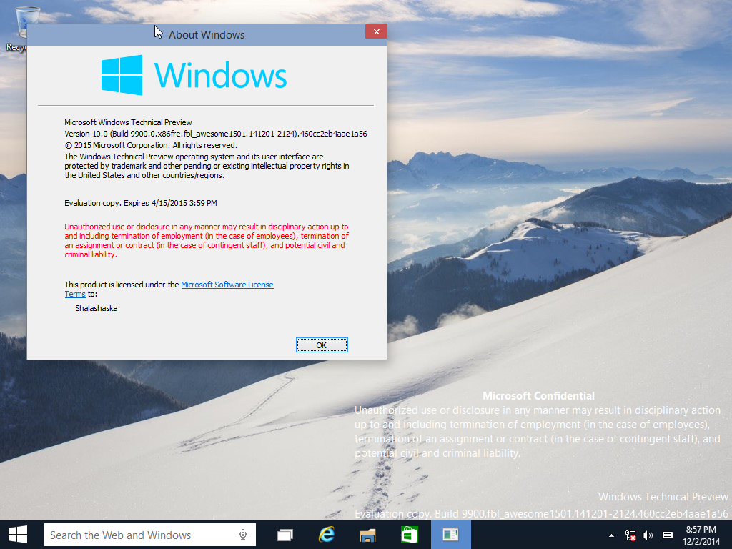 View topic - Windows 10 Technical Preview 9901 Installation Problem