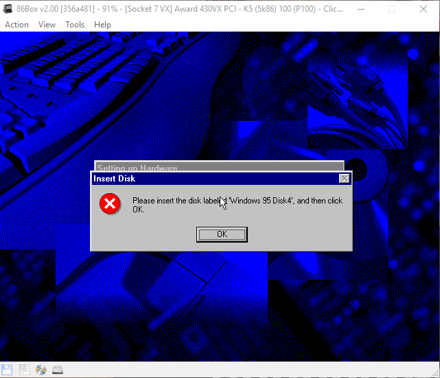 View topic - Windows 95 OSR 2 5 Error Message  - BetaArchive