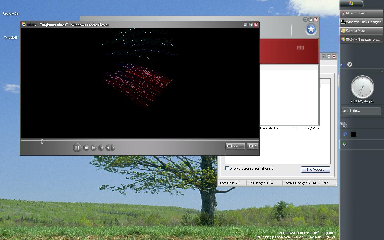 View topic - Media Player in Longhorn 4093 - BetaArchive