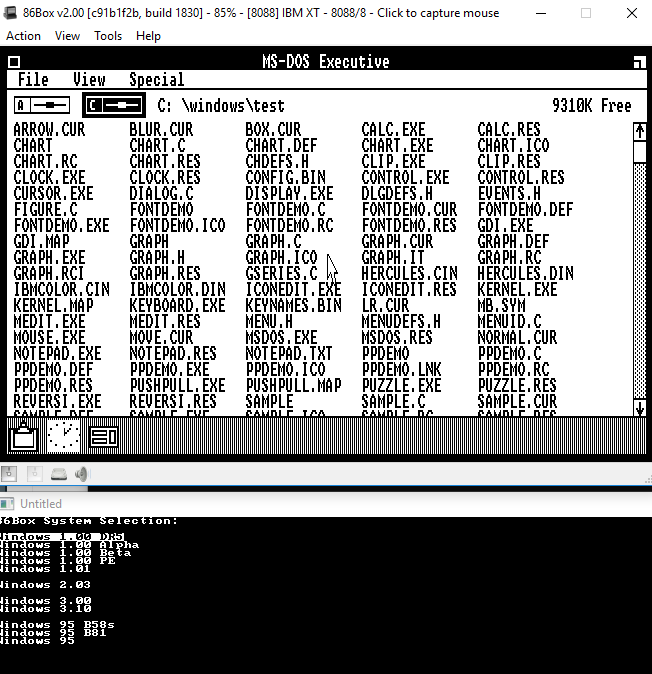View topic - [SOLVED] C: on PCem IBM XT - BetaArchive