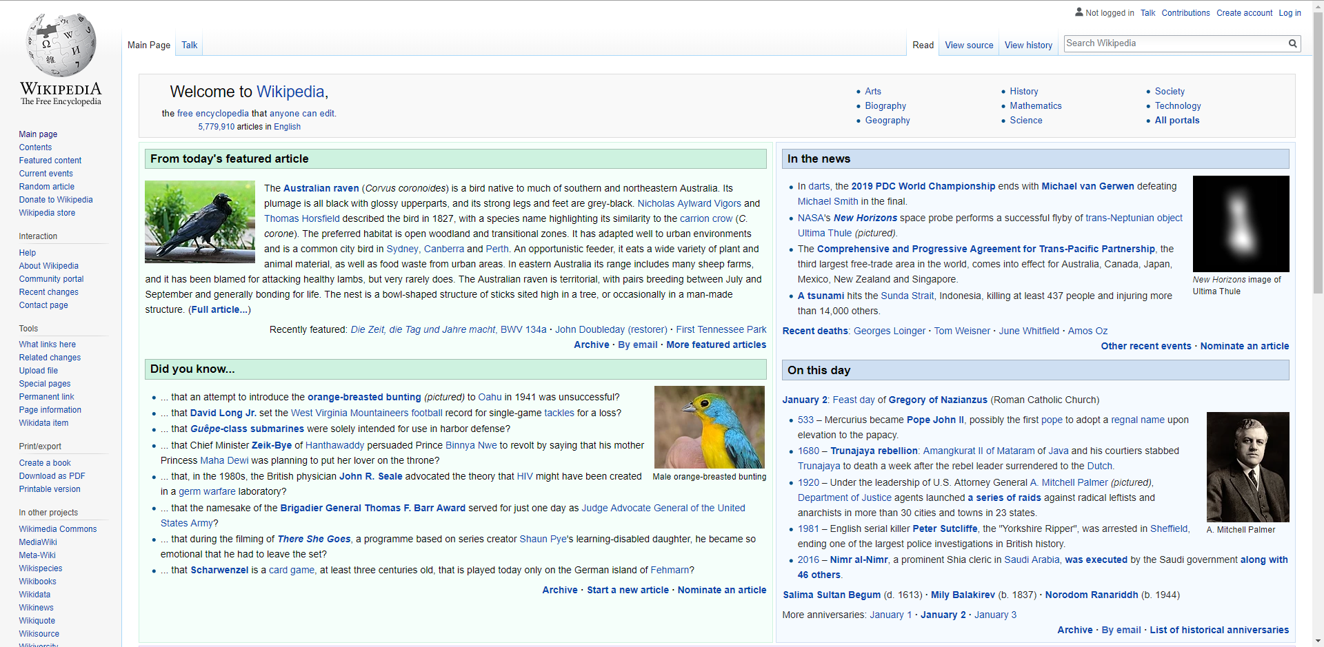 View topic - What's going on with the wiki main page lately