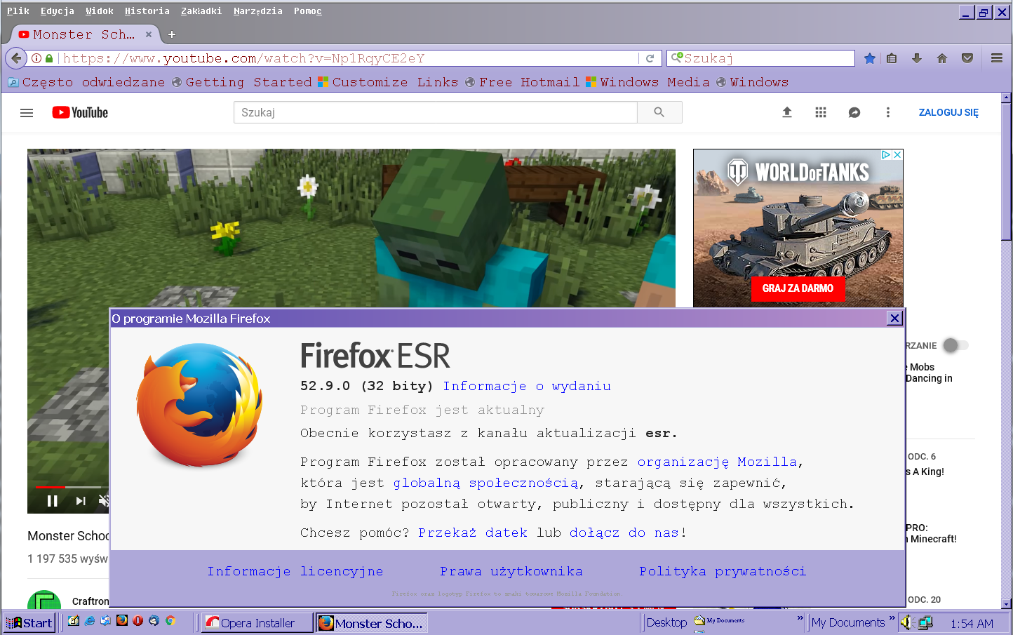 Firefox Esr 52