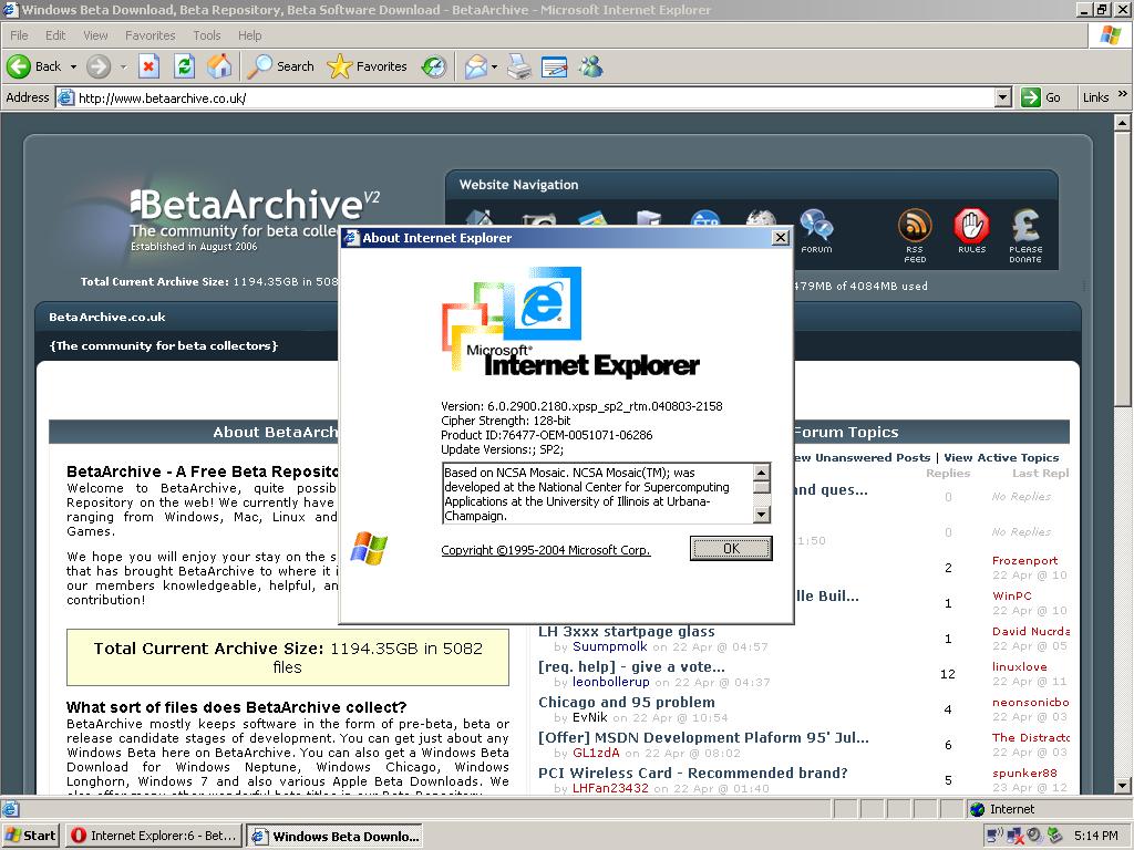 Internet Explorer 6 - BetaArchive Wiki
