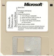 File:Windows 98 SE OEM Boot Disk jpg - BetaArchive Wiki